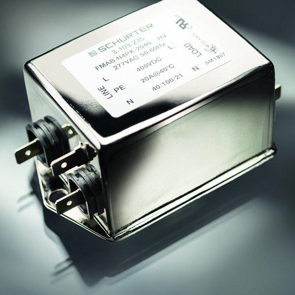 FMAB HV: 1-phase EMI filter for AC and DC applications