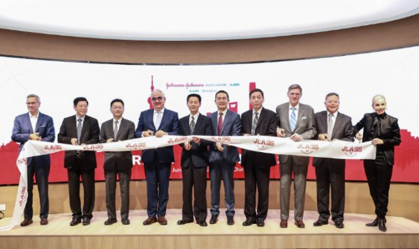 Cutting Ceremony of JLABS@Shanghai, Johnson & Johnson Innovation