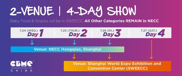 CBME China 2019: 2-Venue, 4-Day Show