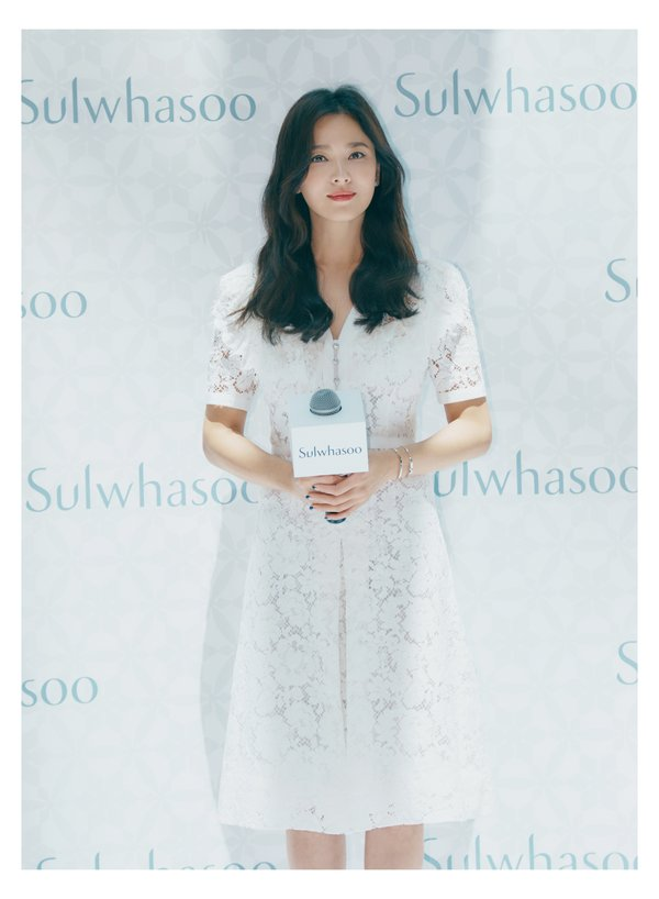 Song Hye-kyo, Sulwhasoo's brand muse at the Sulwhasoo Universe opening event