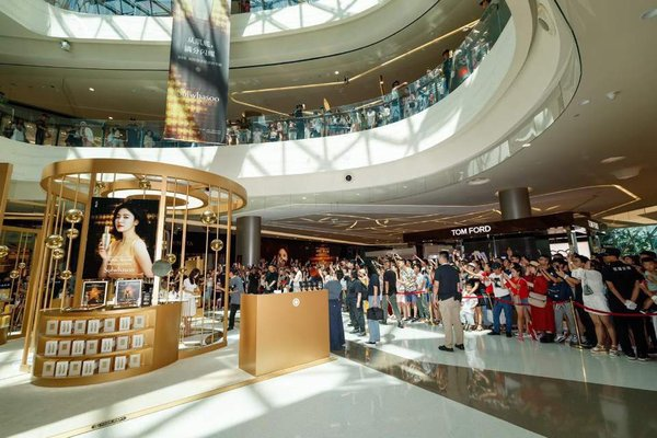 Sulwhasoo Universe opening event at the Hainan Sanya International Duty-Free Shopping Complex in China