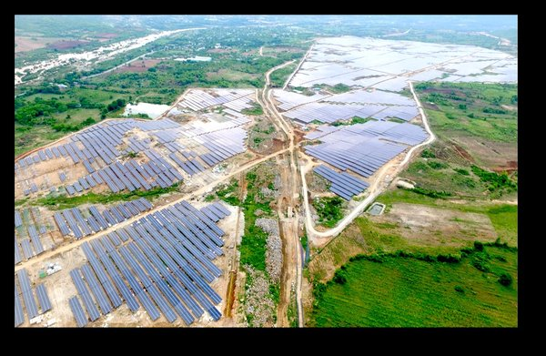 The project was built with LONGi Solar's Hi-MO 1 high efficiency monocrystalline modules