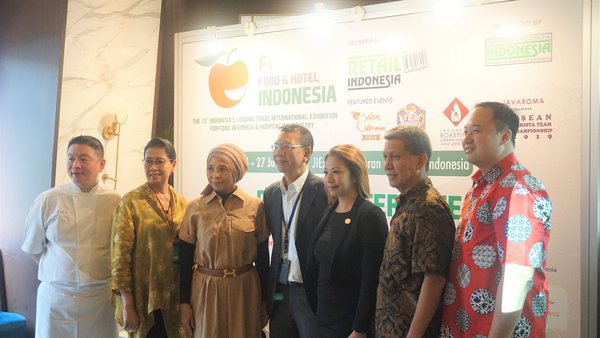Press Conference of Food & Hotel Indonesia 2019