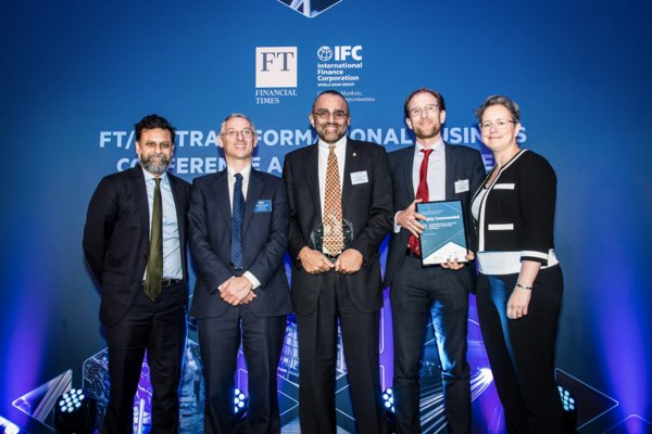 The Transformational Business Award - Education, Knowledge & Skills Category