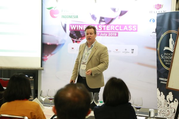 Wine Masterclass at the FHI 2019