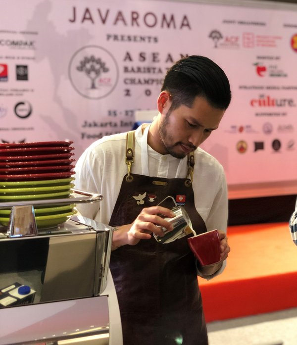 The first edition of ASEAN Barista Team Championship