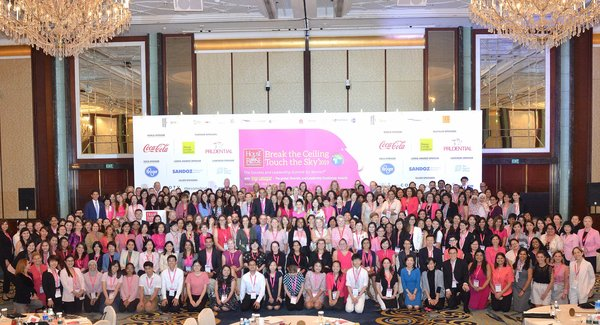 2019 World Edition of Break the ceiling touch the sky(R) - the success and leadership summit for women, held in Singapore Sept 2, 2019.