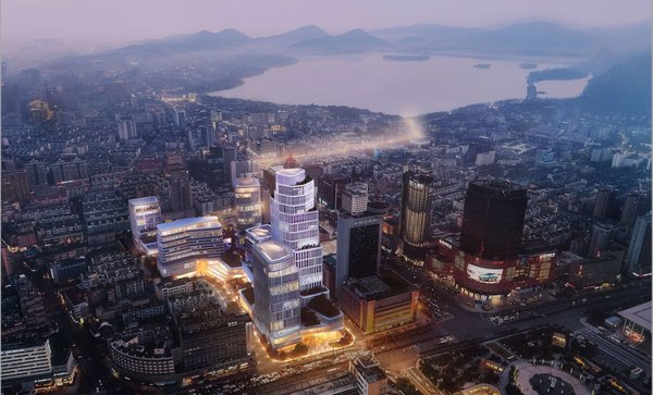 Westlake 66, located in the Xiacheng District of Hangzhou, is a high-end commercial complex comprising a world-class shopping mall, five Grade A officer towers and a luxury hotel. The project holds its ground-breaking ceremony held today (September 17, 2019) and is planned for completion in phases from 2024.