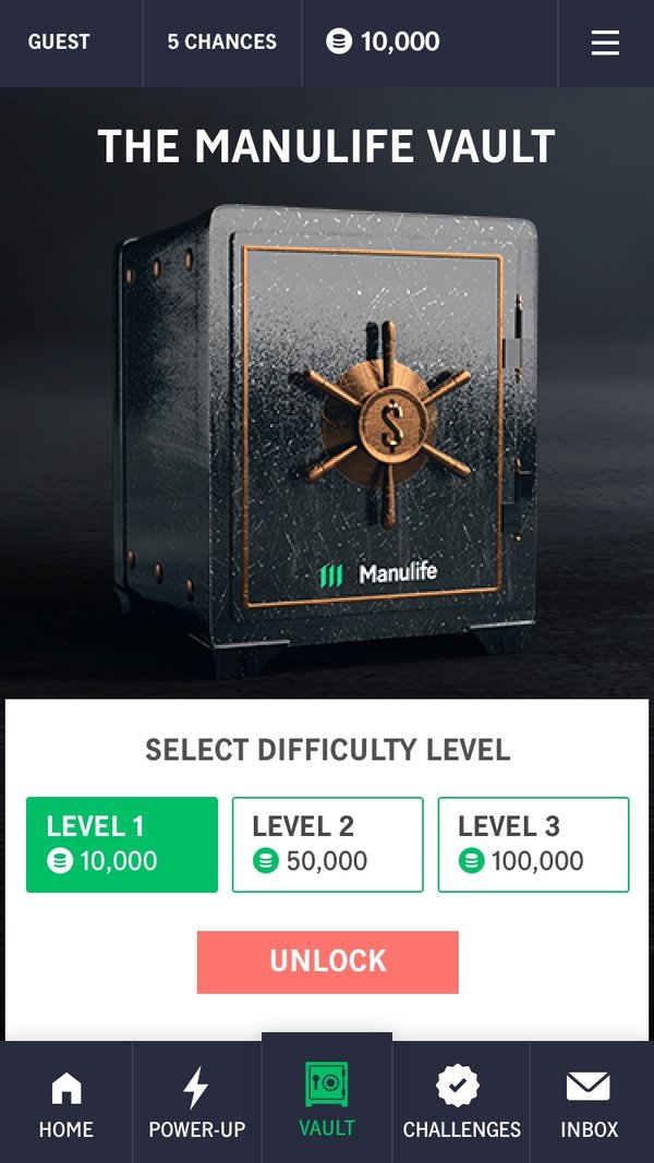Select the difficulty level
