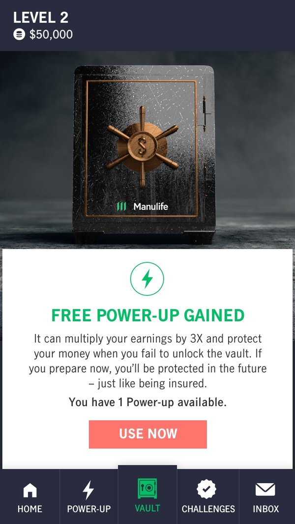 Use a Power-Up to multiply your earnings