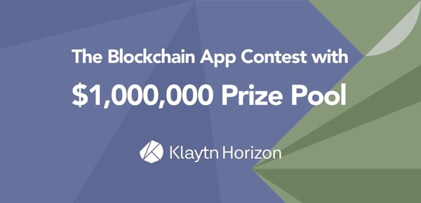 $1 Million Prize Blockchain Application Competition 'Klaytn Horizon'