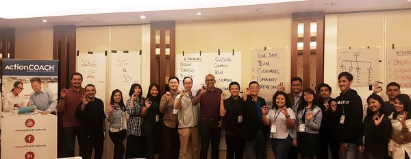 Para coach dan peserta Scale Up Series, Business Excellence Forum oleh ActionCOACH.