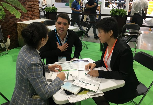 A total transaction of approximately 10 million US dollars was generated during the three-day trade show.