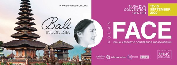 The inaugural of FACE ASEAN is scheduled from 12-13 September 2020 at the Nusa Dua Convention Center in Bali, Indonesia.