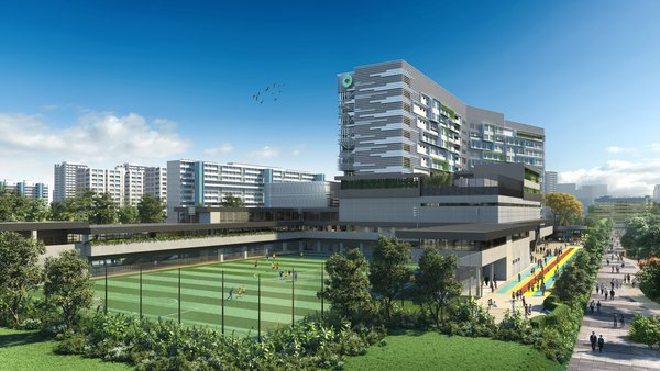 The new Nexus International School (Singapore) campus opens in January 2020.