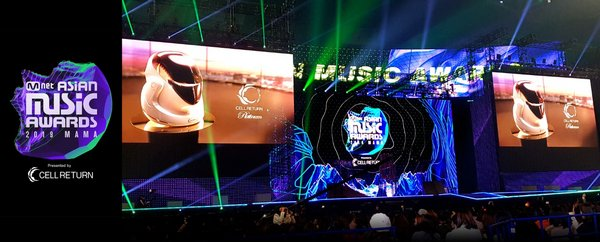 """CELLRETURN Promotes K-beauty at Asia's Largest Music Festival, """"2019 MAMA"""""""
