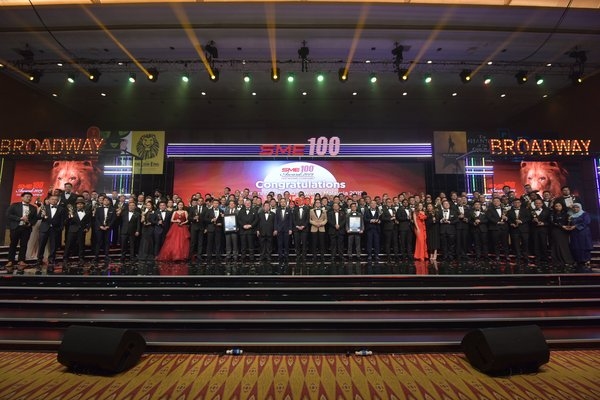 SME100 celebrating 10th anniversary together with winners of SME100 2019