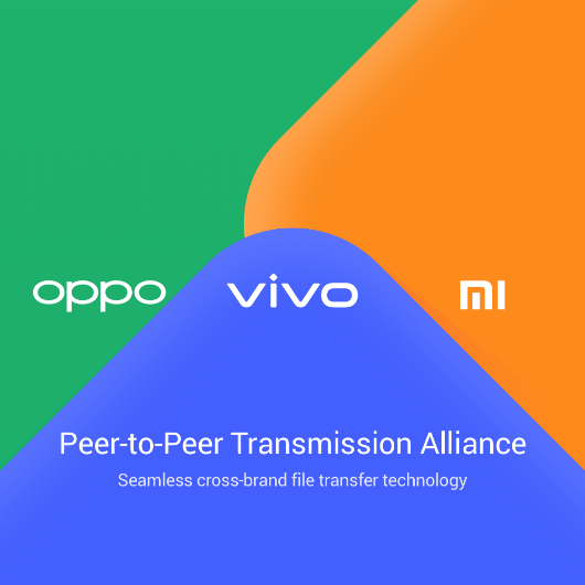 Vivo, OPPO and Xiaomi Partner to Bring New Wireless File Transfer System to Global Consumers