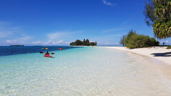 Dodola Island located in the District of Morotai Island, North Maluku.
