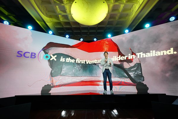 Siam Commercial Bank Group launches SCB 1OX, a new businesses powered by digital technology, including self-investment, venture builder and business partnership, aiming to become ASEAN leader in venture builder and digital technology investment within 5 years.