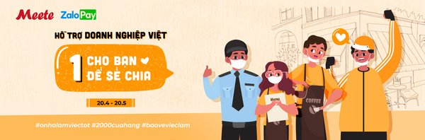 Meete launched a program to support small and medium shops in Hanoi and Ho Chi Minh
