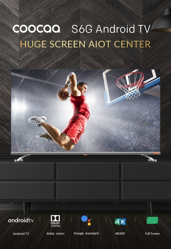 TV Android COOCAA S6G