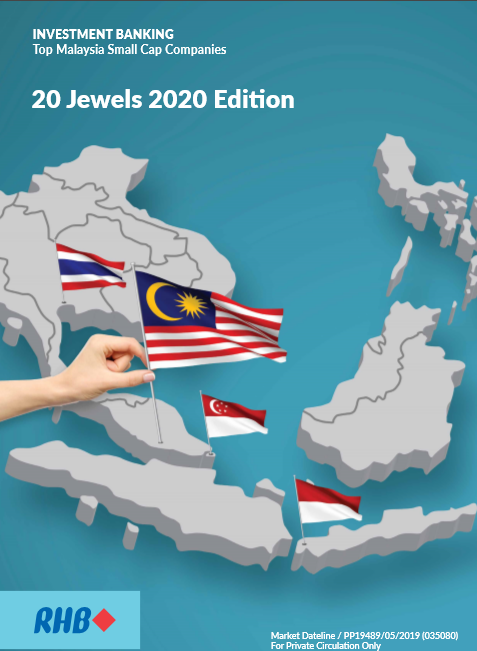 Top 20 Malaysia Small Cap Companies Jewels 2020 (16th edition)