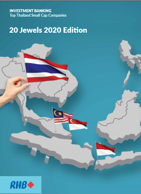 Top 20 Thailand Small Cap Companies Jewels 2020 (16th edition)