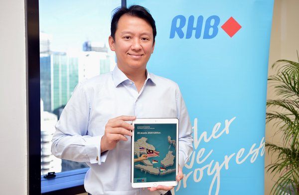 Robert Huray at the Launch of the RHB Small Cap E-book
