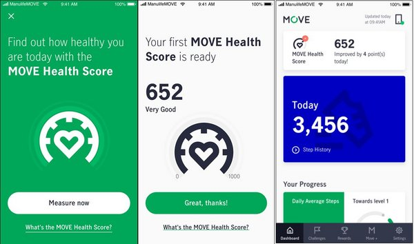 Manulife unveils new MOVE Health Score to help customers become healthier