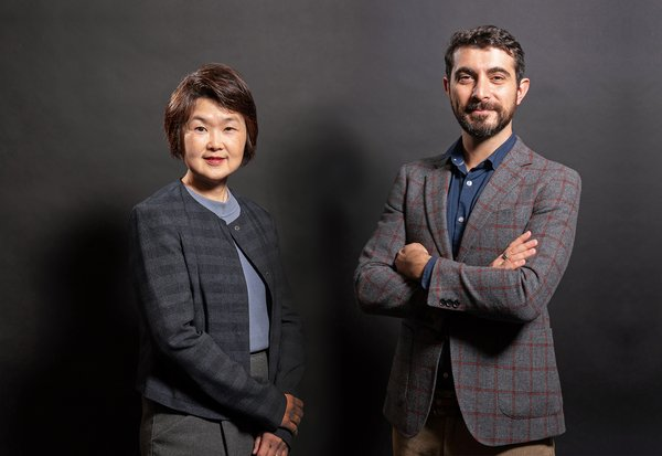 (Left) Michelle Wong, SVP of Enterprise Sales; (Right) Alban Villani, SVP of Global Sales, EMEA and SEA