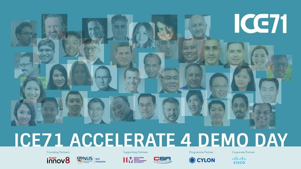 ICE71 presents 9 cybersecurity start-ups at its fourth ICE71 Accelerate Demo Day