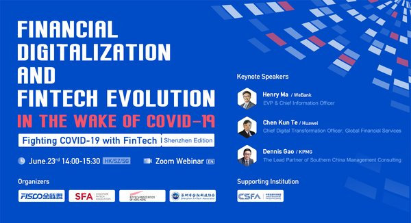 Fighting COVID-19 with FinTech Webinar