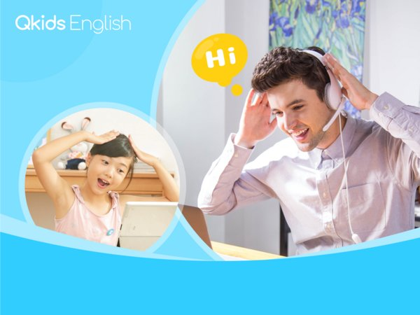 Qkids releases new app updates to boost children's English-learning efficiency, multi-language supported including Chinese, English, Japanese, Korean and Turkish.