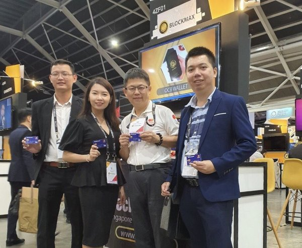 Picture: OCB Life team at Singapore Fintech Festival 2019