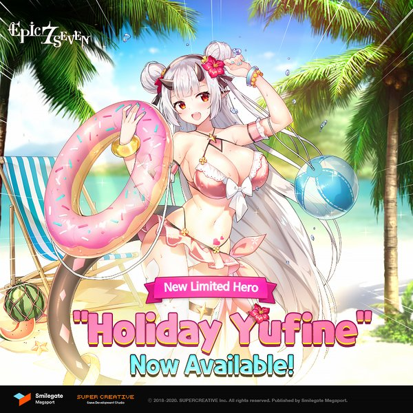 """Epic Seven Releases New Limited Hero """"Holiday Yufine"""""""