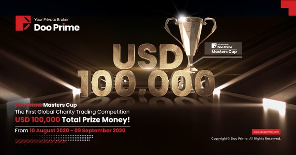 Doo Prime Masters Cup - The First Global Charity Trading Competition - USD 100,000 Total Prize Pool