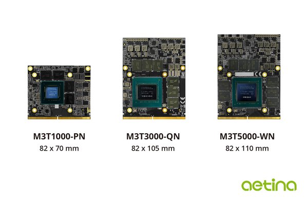 Aetina Corp. announce their new series of MXM module based on NVIDIA Quadro.