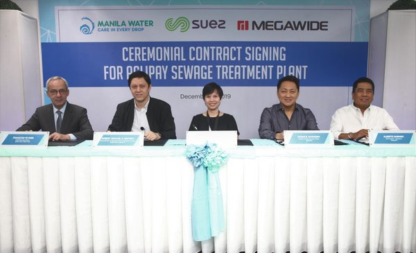 SUEZ Wins New Contract to Support Wastewater Treatment Development in Metro Manila, the Philippines