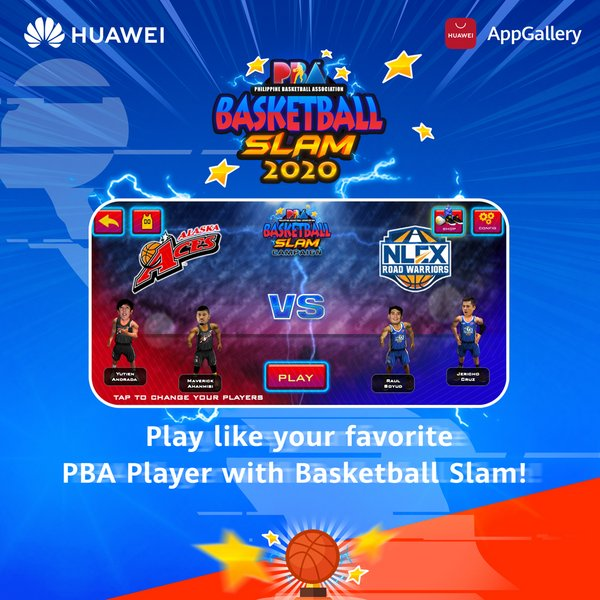 Huawei announced today its team-up with Philippine Basketball Association (PBA) to present the inaugural 'PBA 3-Point Shootout Virtual Tournament' for PBA players to compete for a good cause supporting the frontliners. The tournament is happening online starting from 28 August until 27 November 2020 through the 'Basketball Slam' app, the official basketball gaming app of PBA downloadable from HUAWEI AppGallery.