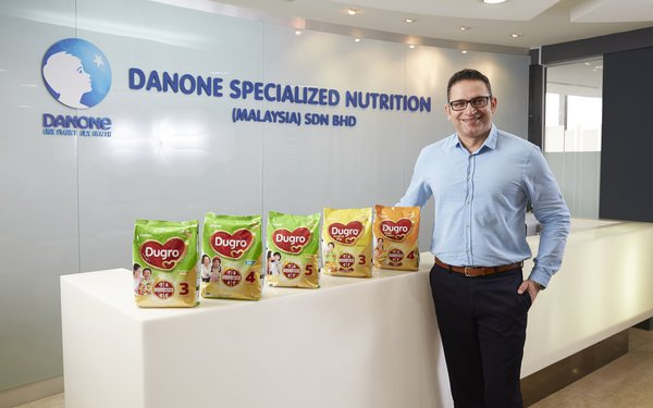 Danish Rahman, GM Danone Specialized Nutrition Malaysia, Singapore & Brunei
