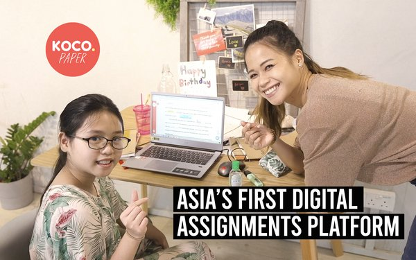 KOCO Paper and KOCO Schools -- Asia's First Digital Assignments Platform