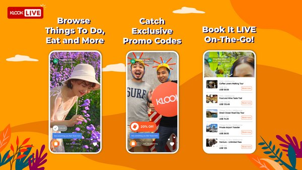 Klook, a world-leading travel and leisure booking platform, today announced the launch of Klook Live!, the brand's own interactive livestream mobile feature.