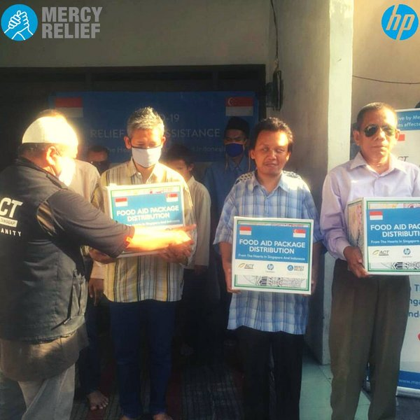 HP Inc. Indonesia partners with Mercy Relief Indonesia to support the disabled, local communities and frontline healthcare professionals during this pandemic