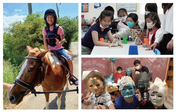 Over the summer Karl and Johan Schools in Zhubei, Hsinchu offered 3 summer camps that were sold-out and highly praised by parents and students alike. Bilingual classes were designed and carried out by local Taiwanese teachers and foreign teachers together in order to provide a comprehensive learning experience that connects different aspects on a given topic. Not only can students immerse in amusing themes, but also learn effectively in different academic areas.