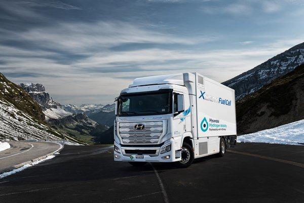 Hyundai Motor's Delivery of XCIENT Fuel Cell Trucks in Europe