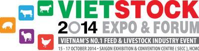 VIETSTOCK AND VIETMEAT 2014 Expo & Forum Logo