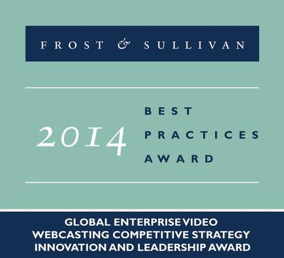 TalkPoint, a PGi Company receives the 2014 Global enterprise Video Webcasting Competitive Strategy Innovation and Leadership Award