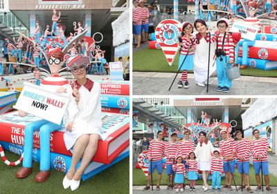 Harbour City has invited special guest Ms. Miriam Yeung to attend the press event of Where's Wally? Art Exhibition.