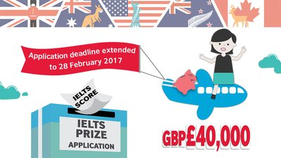 Apply for the British Council IELTS Prize 2016/17 now!